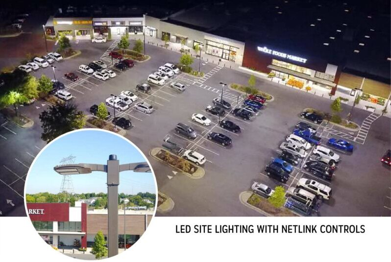 LED Site Lighting with netLiNK Controls